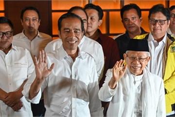 Lãnh đạo Việt Nam điện mừng Tổng thống và Phó Tổng thống Indonesia