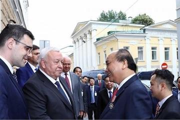 Thủ tướng Nguyễn Xuân Phúc kết thúc tốt đẹp chuyến thăm Nga