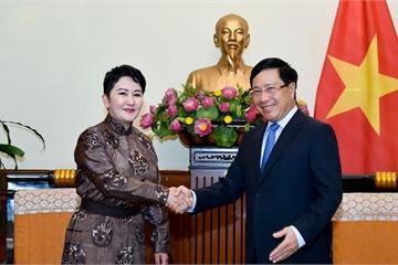 PTT Phạm Bình Minh: Quan hệ Việt Nam – Mông Cổ ngày càng vững chắc