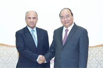 Thủ tướng Nguyễn Xuân Phúc tiếp Đại sứ Ả Rập Xê út