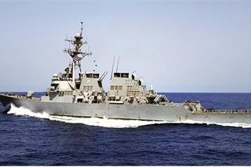 Tàu khu trục Mỹ theo dõi hải quân Nga ở Bắc Cực