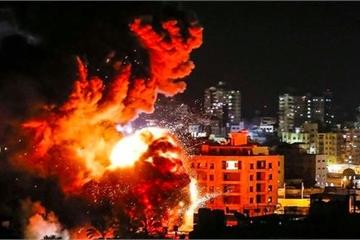 """Palestine phóng loạt rocket, hệ thống """"vòm sắt"""" của Israel """"gồng mình"""" đáp trả"""