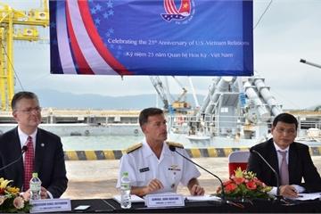 Bộ Ngoại giao thông tin về mục đích, ý nghĩa chuyến thăm VN của tàu sân bay Mỹ