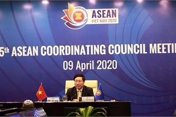 Phó Thủ tướng Phạm Bình Minh chủ trì Hội nghị lần thứ 25 Hội đồng Điều phối ASEAN