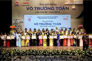 50 nhà giáo được trao tặng giải thưởng Võ Trường Toản năm 2019