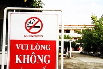 Yêu cầu 100% giáo viên học sinh ký cam kết thực hiện Luật Phòng thuốc lá