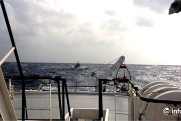 Phú Yên: Tìm thấy thi thể thuyền viên trong vụ 3 tàu cá mắc cạn