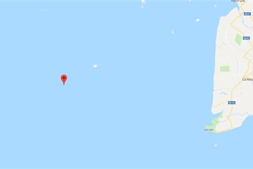 Một ngư dân mất tích gần đảo Thổ Chu