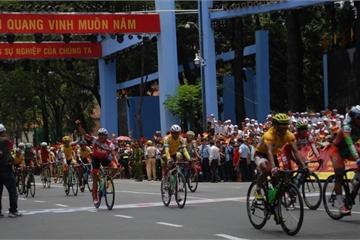 TP.HCM: Cấm đường cho chặng cuối cuộc đua xe đạp toàn quốc
