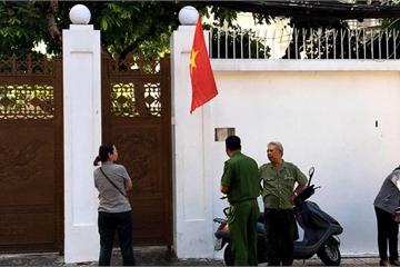 Bị thi hành án, căn biệt thự bà Diệp Thảo đóng chặt cửa
