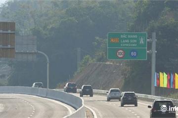 Cao tốc dài hơn 60km Bắc Giang - Lạng Sơn đã chính thức thông xe