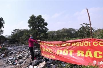 Hà Nội: Người dân kêu trời, sống mòn bên bãi rác tự phát tại phường Định Công