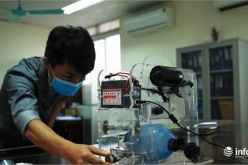 Cận cảnh máy trợ thở đầu tiên do chính tay người Việt Nam thiết kế và sản xuất
