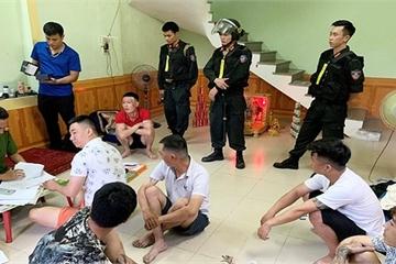 Công an Quảng Bình đột kích, khám khẩn cấp nhiều điểm hoạt động tín dụng đen