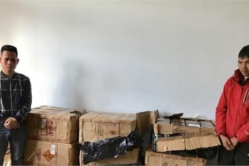 Quảng Bình: Bắt quả tang các đối tượng vận chuyển trái phép gần 3 tạ pháo