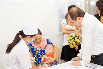 Thêm một vắc xin 5 trong 1 trong chương trình tiêm chủng mở rộng