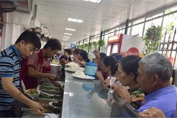 Nhiều bệnh viện xây dựng bếp ăn đảm bảo an toàn thực phẩm