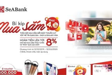 SeABank tặng Iphone 11 cho khách hàng mở mới thẻ SeA - Easy và SeALady