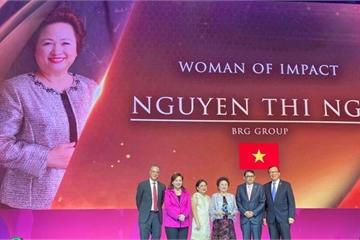 Chủ tịch Tập đoàn BRG được vinh danh Nữ Doanh Nhân có tầm ảnh hưởng khu vực ASEAN