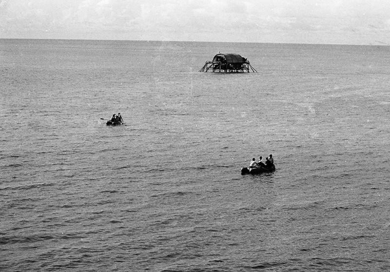 Ảnh vô giá: Bộ đội Việt Nam giữ đảo Trường Sa năm 1988 sau trận Gạc Ma - ảnh 15