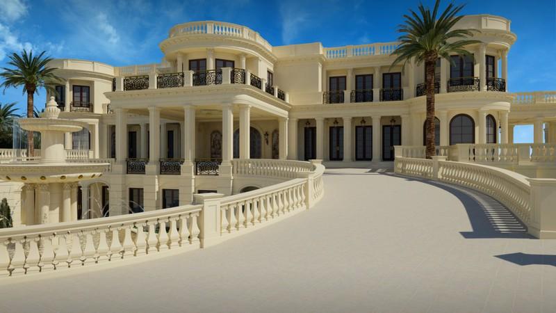 Ngắm cung điện được rao bán 139 triệu USD ở Mỹ - ảnh 1