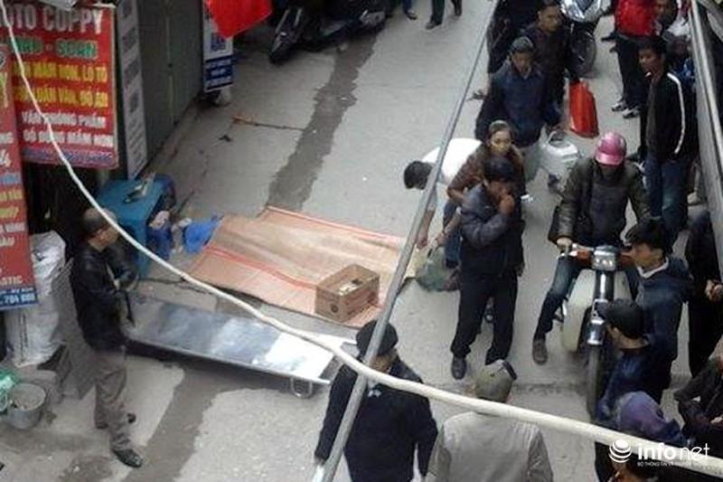 Nam thanh niên rơi từ nhà cao tầng xuống đất tử vong - ảnh 1