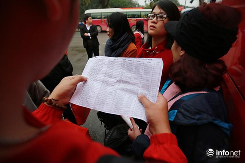 Hình ảnh 2.500 sinh viên đi xe miễn phí về quê ăn Tết - ảnh 10