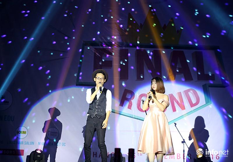 Chung kết cuộc thi hát tiếng Anh của học sinh, sinh viên Hà Nội - ảnh 1