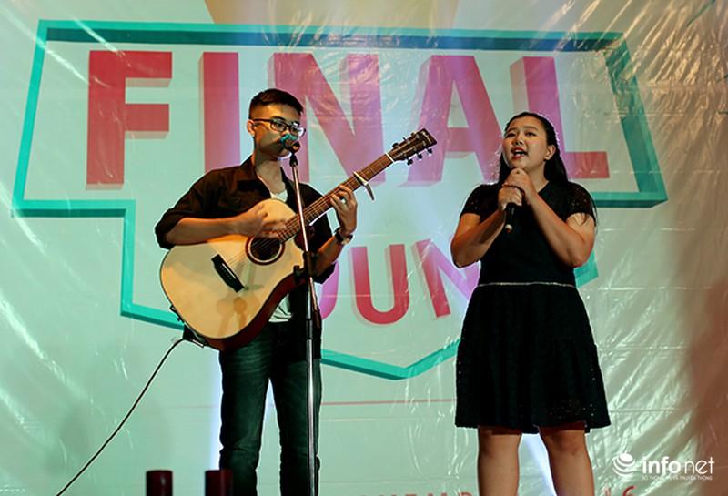 Chung kết cuộc thi hát tiếng Anh của học sinh, sinh viên Hà Nội - ảnh 3