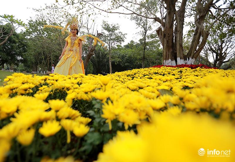Nhiều không gian giải trí mới lạ tại lễ hội hoa Xuân lớn nhất miền Bắc - ảnh 6
