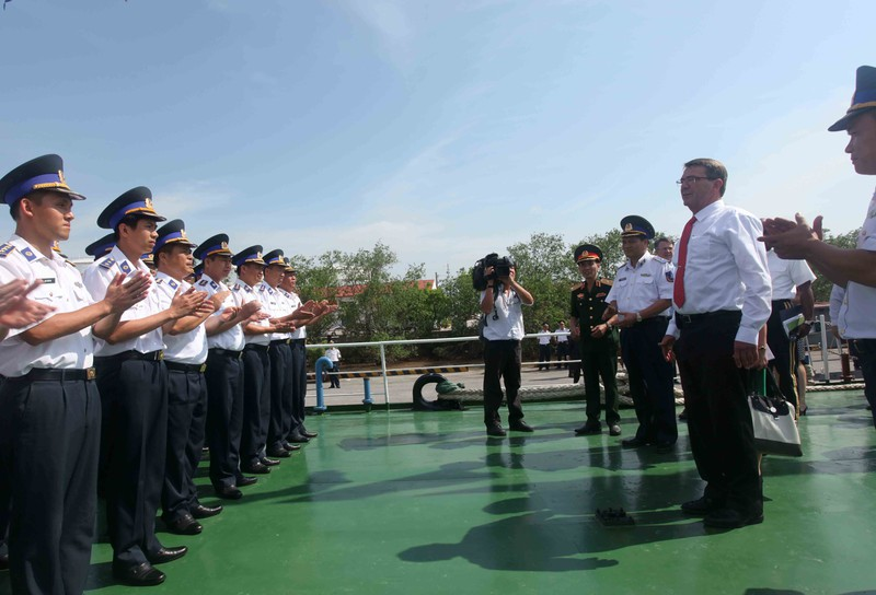 Hình ảnh toàn cảnh Bộ trưởng Quốc phòng Hoa Kỳ thăm Việt Nam - ảnh 21