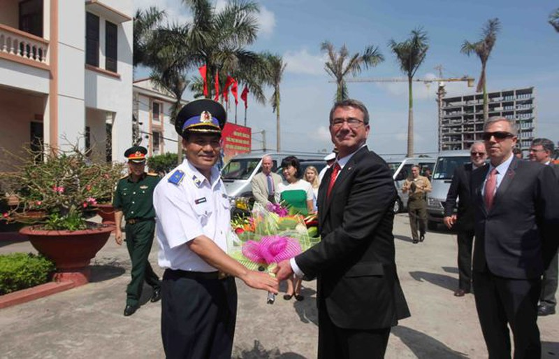 Hình ảnh toàn cảnh Bộ trưởng Quốc phòng Hoa Kỳ thăm Việt Nam - ảnh 19