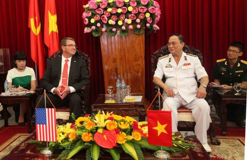 Hình ảnh toàn cảnh Bộ trưởng Quốc phòng Hoa Kỳ thăm Việt Nam - ảnh 16