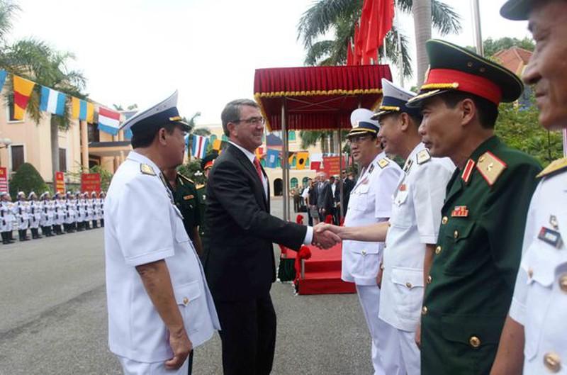 Hình ảnh toàn cảnh Bộ trưởng Quốc phòng Hoa Kỳ thăm Việt Nam - ảnh 17