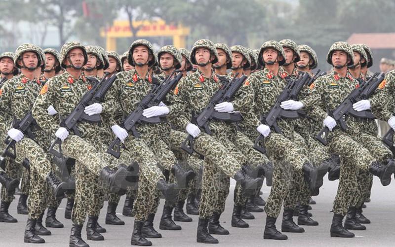 Hình ảnh lễ xuất quân bảo vệ Đại hội Đảng 12 - ảnh 7