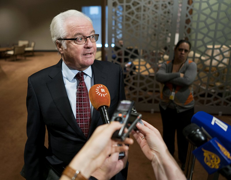 Những hình ảnh đáng nhớ của cố Đại sứ Nga tại Liên Hiệp Quốc Churkin - ảnh 2