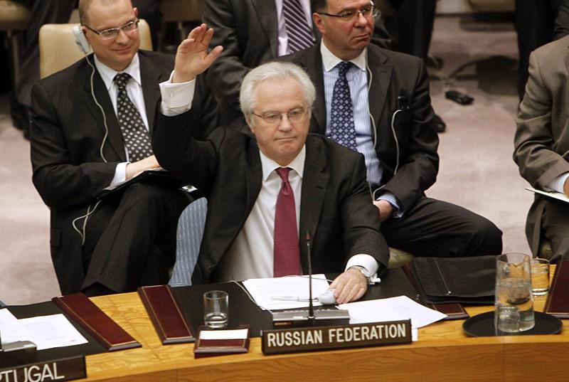 Những hình ảnh đáng nhớ của cố Đại sứ Nga tại Liên Hiệp Quốc Churkin - ảnh 11