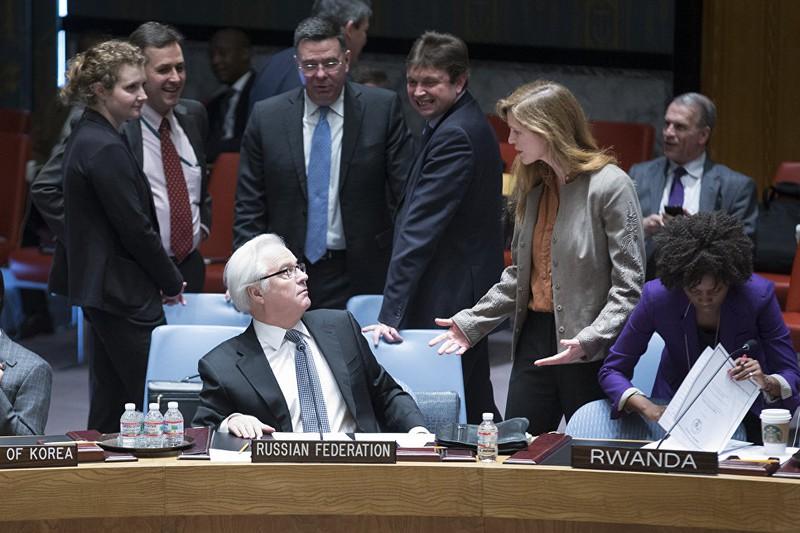 Những hình ảnh đáng nhớ của cố Đại sứ Nga tại Liên Hiệp Quốc Churkin - ảnh 12