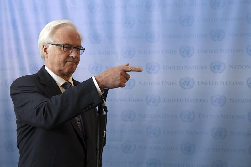 Những hình ảnh đáng nhớ của cố Đại sứ Nga tại Liên Hiệp Quốc Churkin - ảnh 13