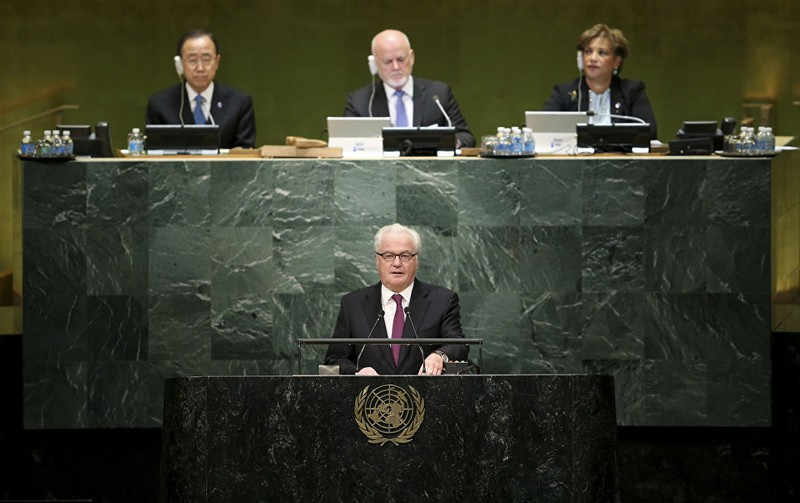 Những hình ảnh đáng nhớ của cố Đại sứ Nga tại Liên Hiệp Quốc Churkin - ảnh 18
