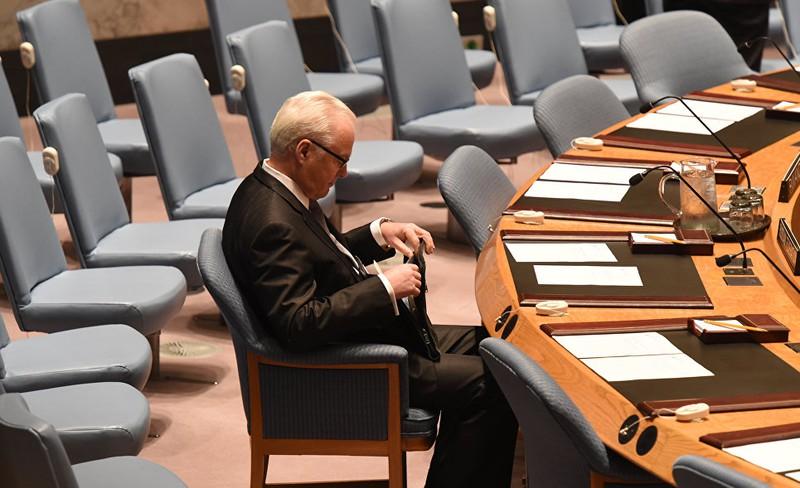 Những hình ảnh đáng nhớ của cố Đại sứ Nga tại Liên Hiệp Quốc Churkin - ảnh 1
