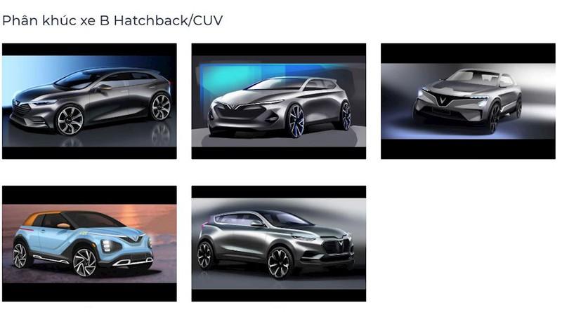 Xem trọn bộ 35 thiết kế của VinFast Pre mới, mẫu xe nào được lựa chọn? - ảnh 2