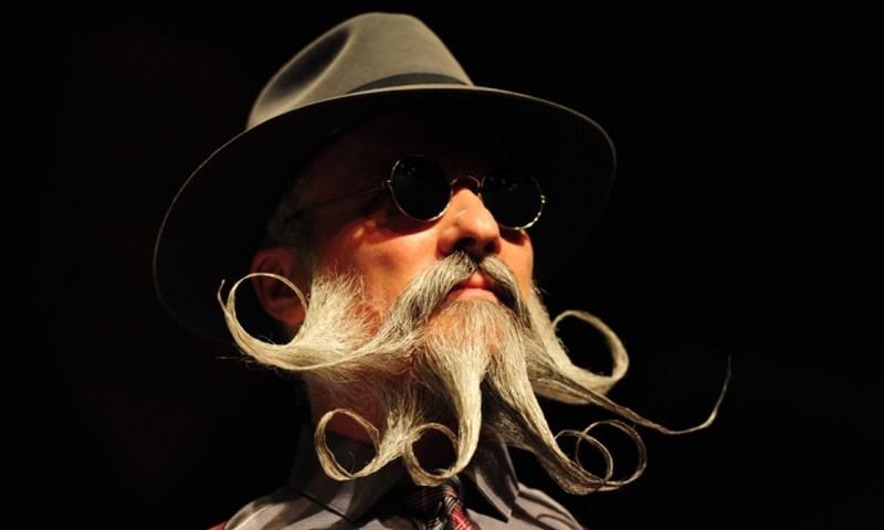 Phì cười với những bộ râu độc đáo nhất thế giới - ảnh 4