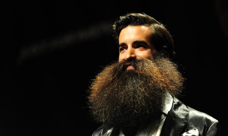 Phì cười với những bộ râu độc đáo nhất thế giới - ảnh 2