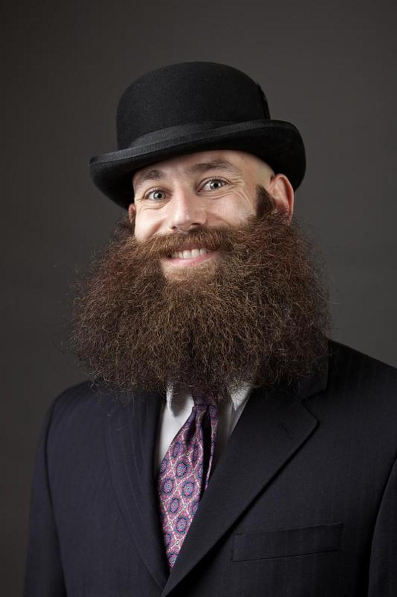 Phì cười với những bộ râu độc đáo nhất thế giới - ảnh 10