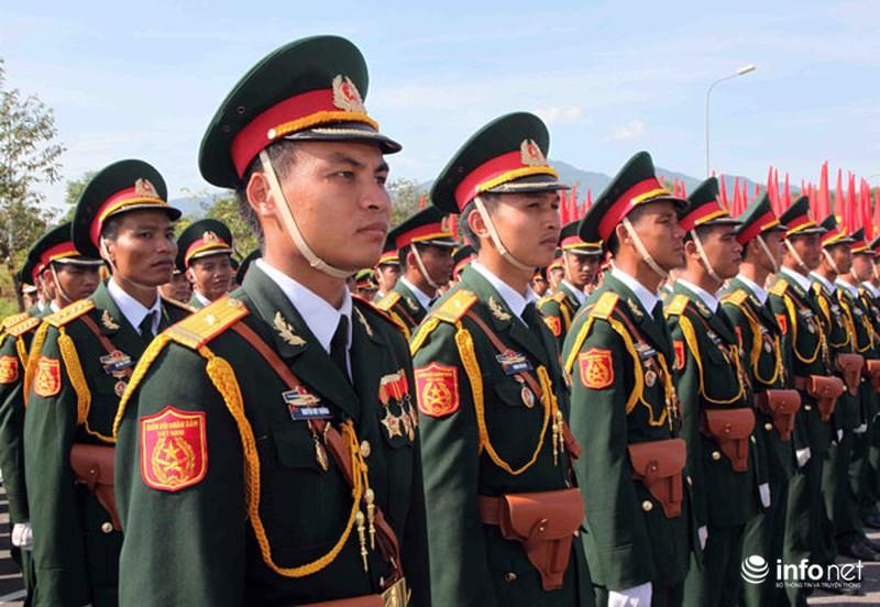 Các khối luyện tập chuẩn bị lễ Diễu binh ngày Quốc khánh 2/9 - ảnh 1