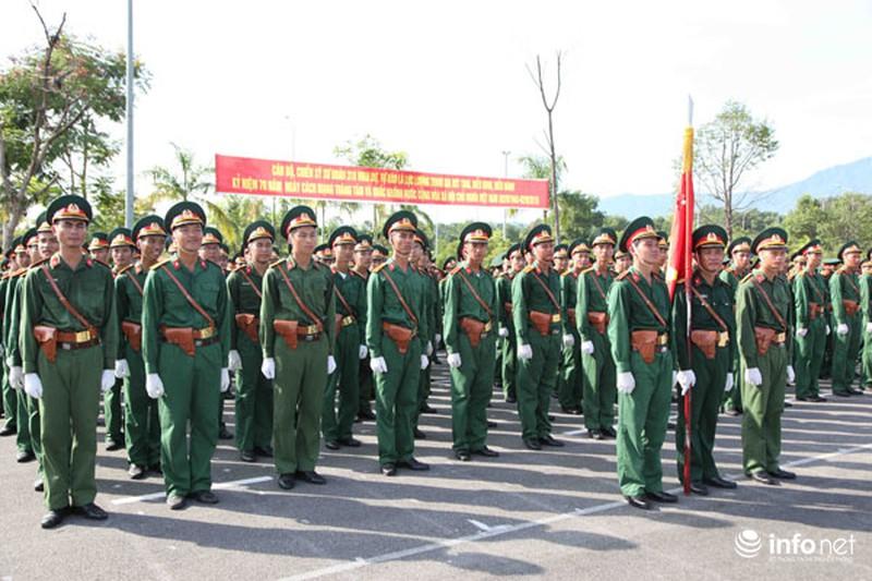 Các khối luyện tập chuẩn bị lễ Diễu binh ngày Quốc khánh 2/9 - ảnh 11