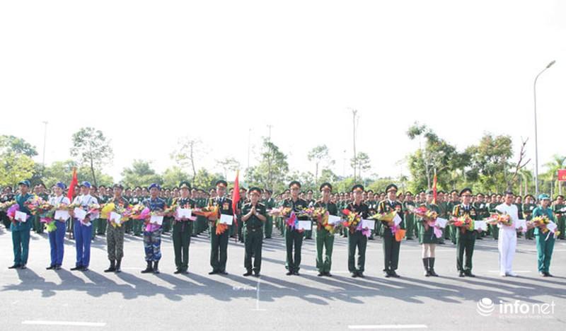 Các khối luyện tập chuẩn bị lễ Diễu binh ngày Quốc khánh 2/9 - ảnh 12