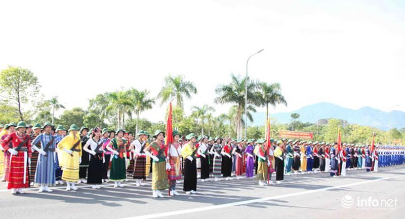Các khối luyện tập chuẩn bị lễ Diễu binh ngày Quốc khánh 2/9 - ảnh 13