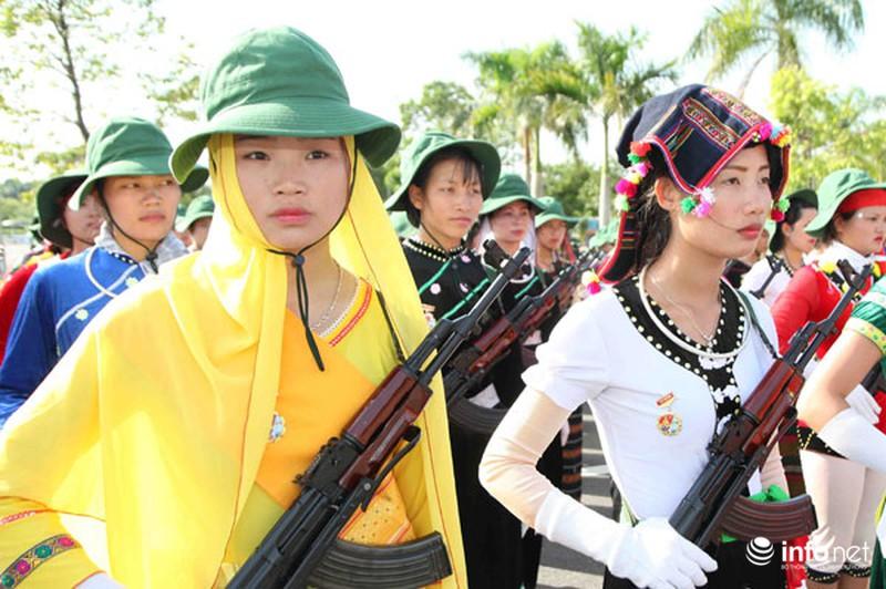 Các khối luyện tập chuẩn bị lễ Diễu binh ngày Quốc khánh 2/9 - ảnh 14